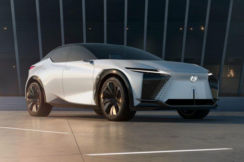 Lexus показал электрический концепт-кар LF-Z