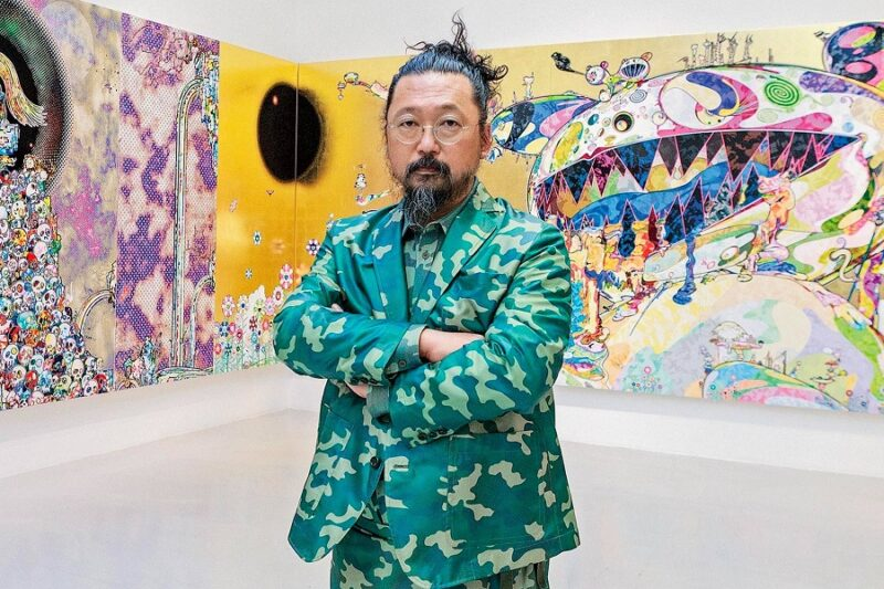 История японского художника Такаси Мураками