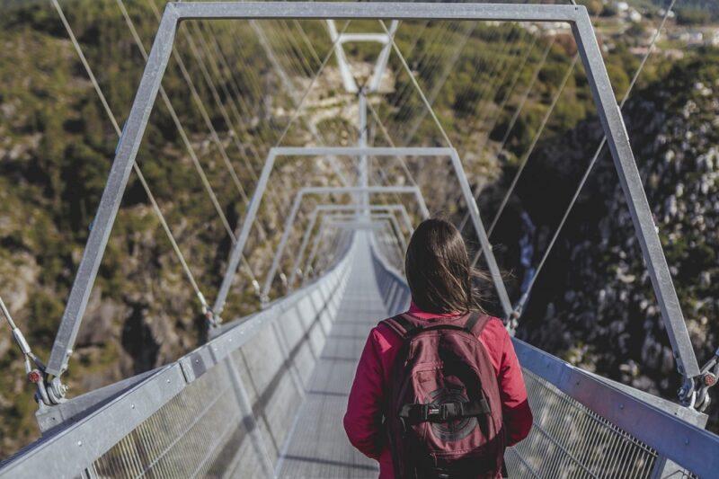 Самый длинный в мире подвесной пешеходный мост 516 Arouca