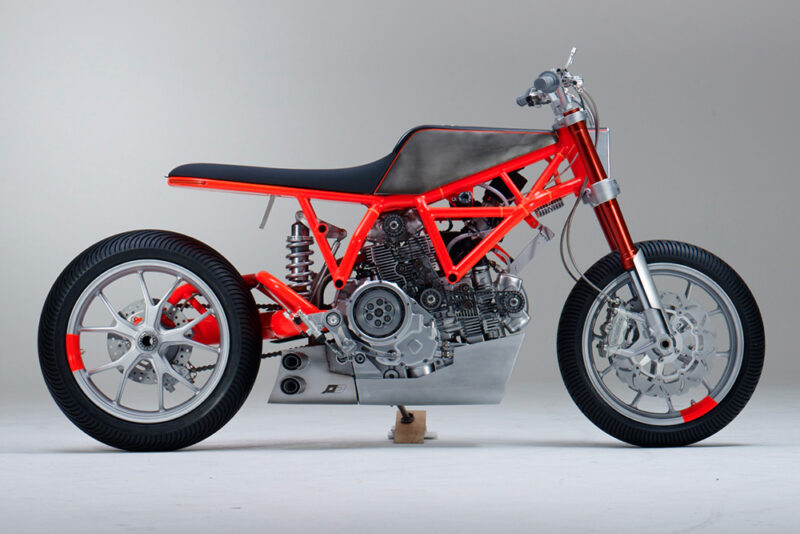 Кастом UMC-038 на базе Ducati Scrambler