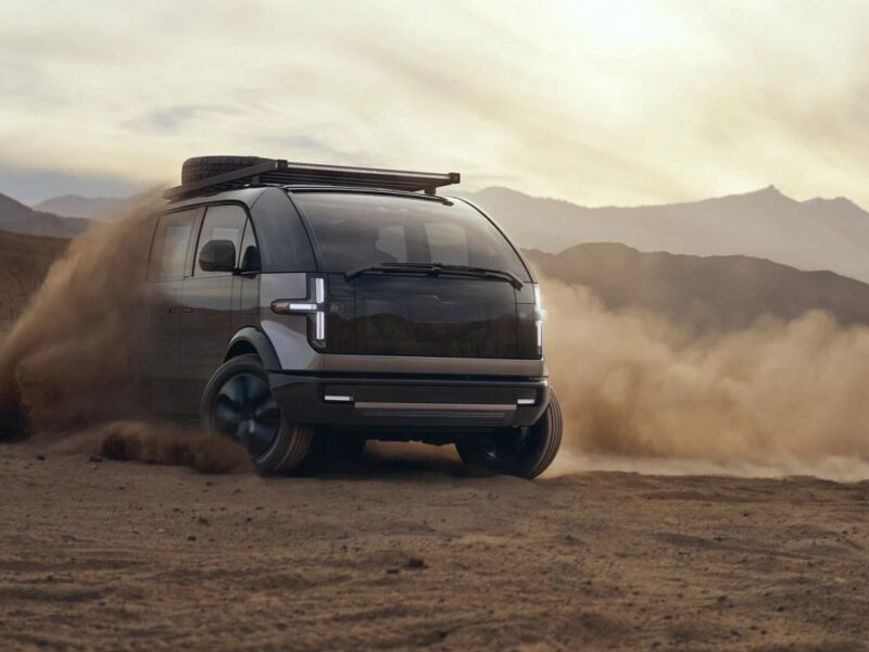 Электрический фургон Canoo «Lifestyle Vehicle»