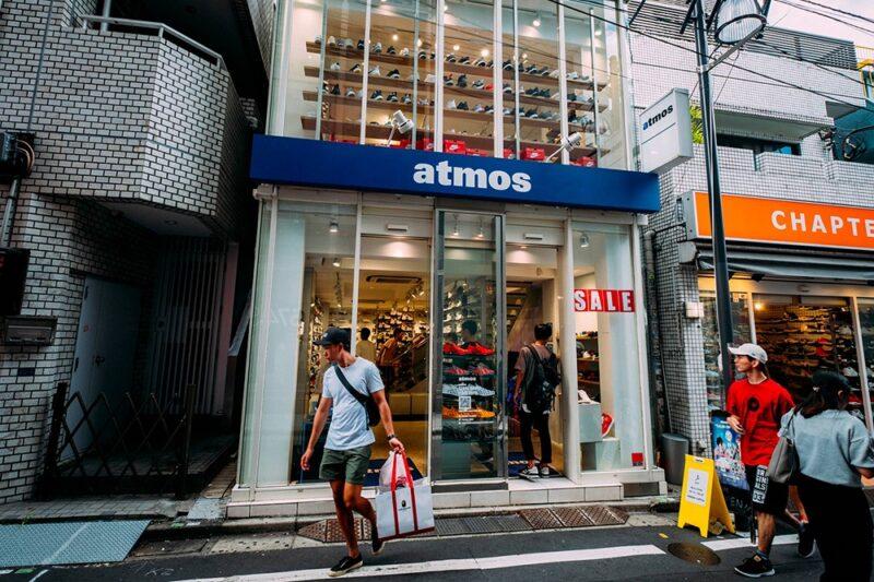 История японского магазина Atmos