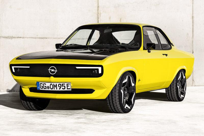 Электрический рестомод Opel Manta GSe