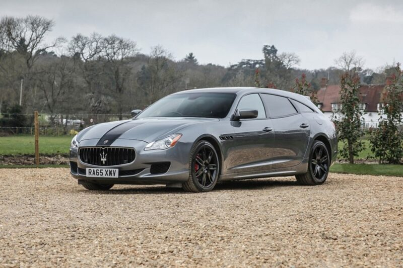 Maserati Quattroporte Shooting Brake в единственном экземпляре