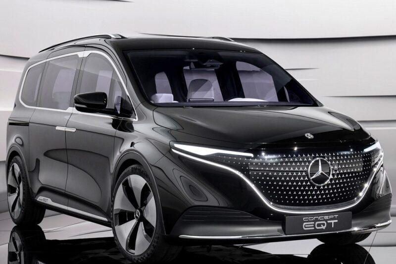Концепт электрического минивэна Mercedes-Benz EQT