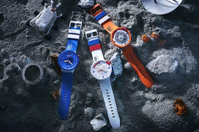 Часы Swatch из биокерамики, вдохновленные NASA