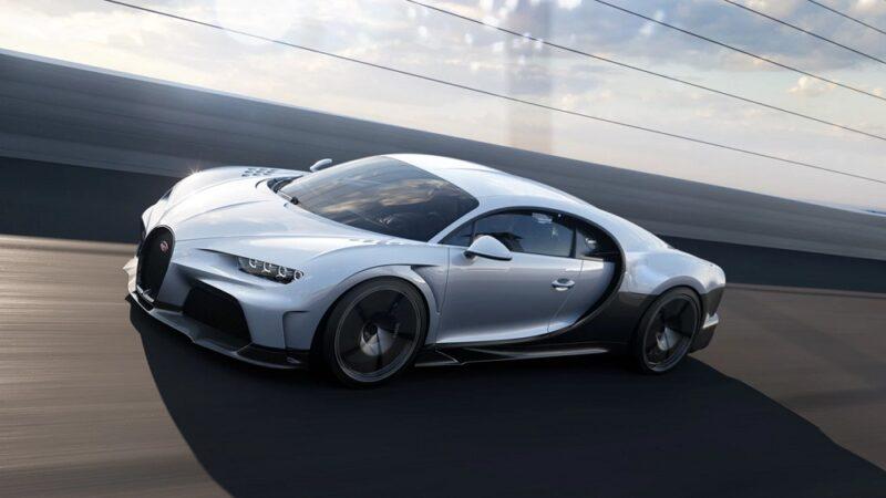 Новейший Bugatti Chiron Super Sport