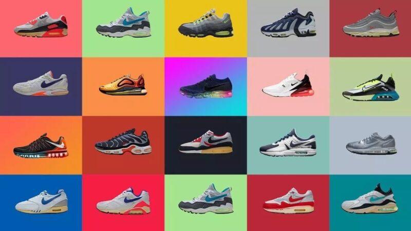 Серия кроссовок Air Max. Топ — 10