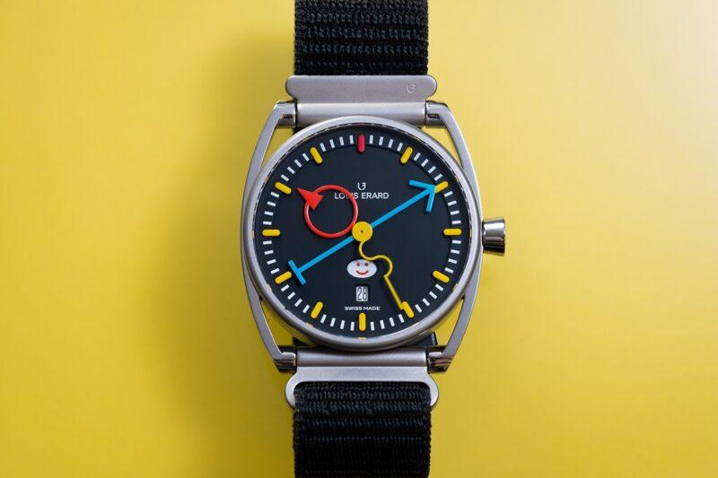Часы Louis Erard с дизайном Алена Зильберштейна
