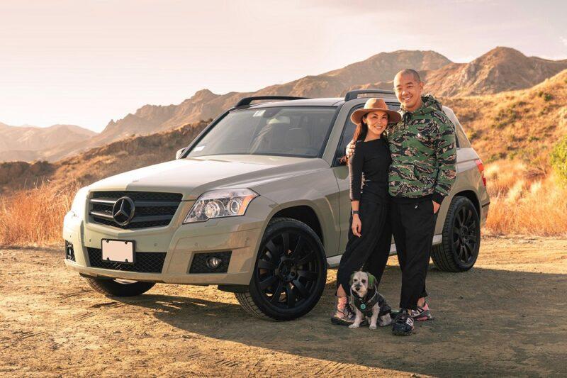 Jeff Staple и его Mercedes-Benz GLK 350 4MATIC