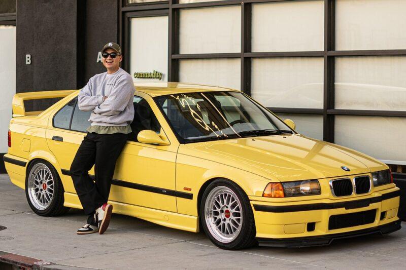 Дизайнер бренда Collegium и его BMW M3 E36 1997 года