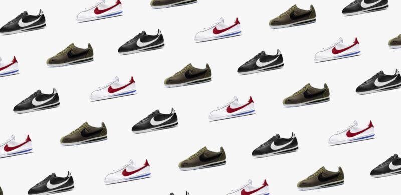 История модели Nike Cortez