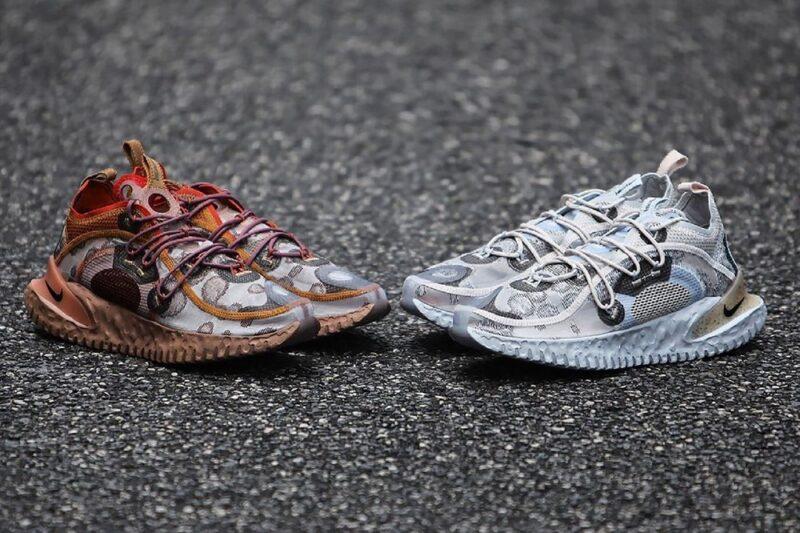 Nike ISPA Flow представлен в двух новых цветовых схемах