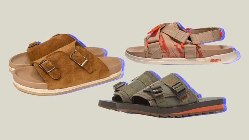 14 стильных мужских сандалий на лето