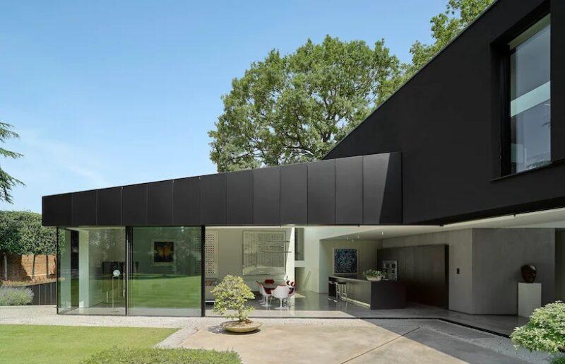 Проект Winter House от студии Scott Donald Architecture
