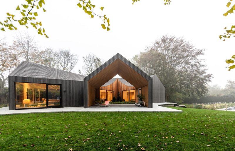 Модульный шестиугольный дом от студии Young projects
