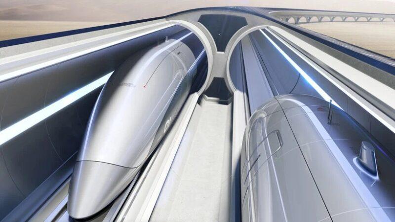 Совместный проект Zaha Hadid Architects и Hyperloop