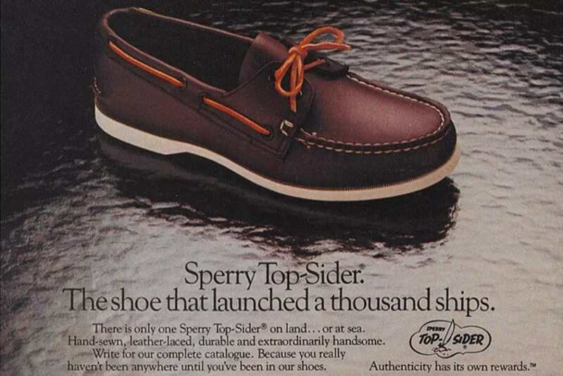 История Sperry Top-Siders — нескользящая обувь для яхт