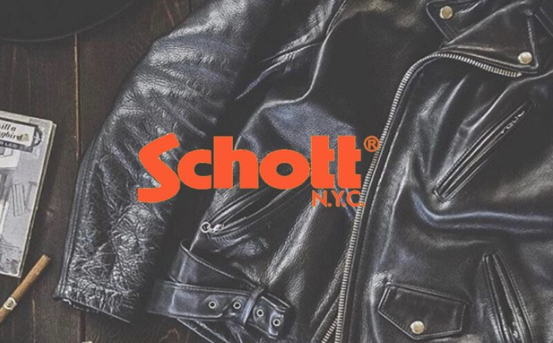 История бренда Schott NYC