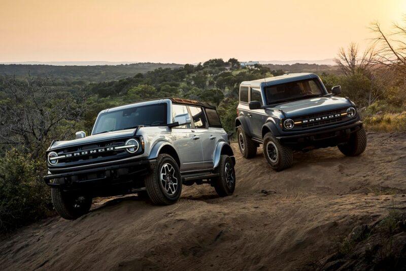 Эволюция внедорожника Ford Bronco