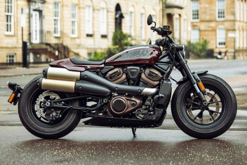 Новый 121-сильный Harley-Davidson Sportster S