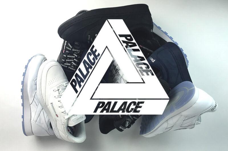 Все коллаборации Palace в обуви