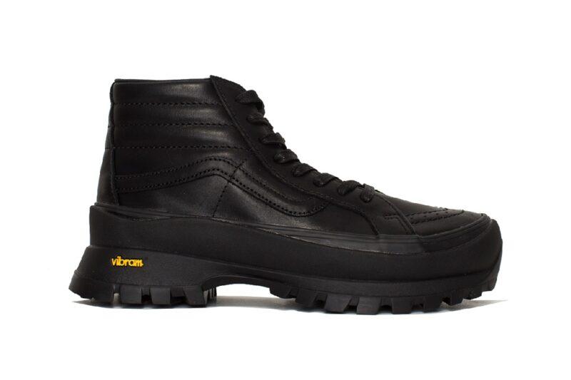 Ботинки Vans SK8-Hi LX и Authentic LX с подошвой Vibram