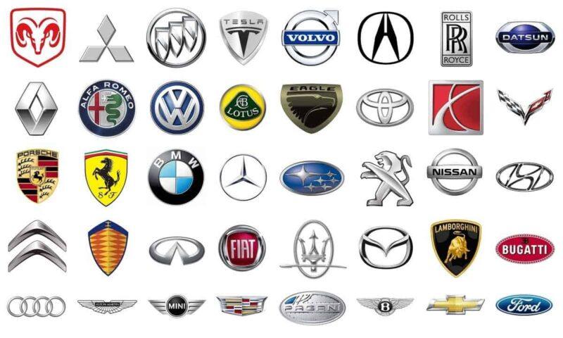 25 автомобильных эмблем и их значение