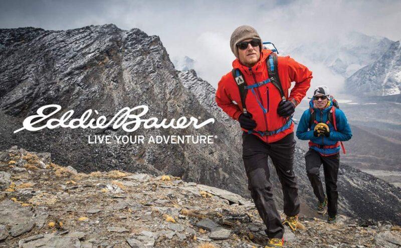 Пионер в одежде для активного отдыха: Eddie Bauer