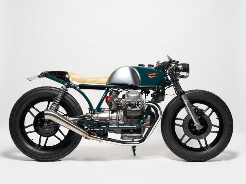 Moto Guzzi V50 MK2 «BERETTA» от Deus Ex Machina