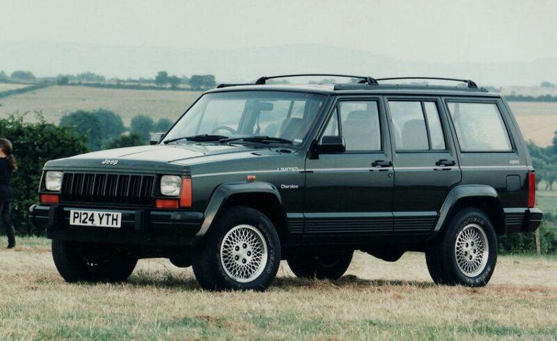 Cherokee XJ — самый влиятельный Jeep