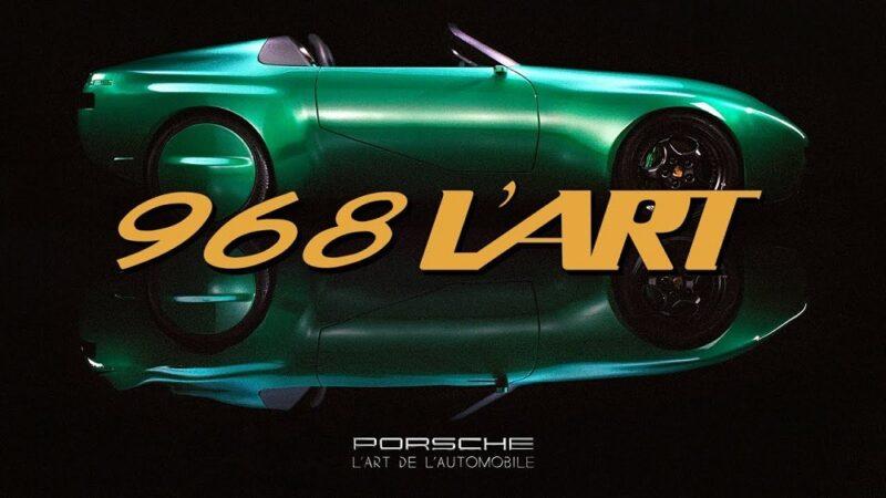 L'Art de L'Automobile x Porsche 968. Интервью с Артуром Каром