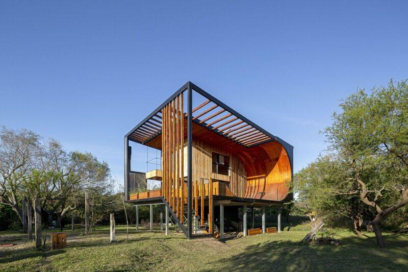 Дом для скейтбордиста от архитектора Macu Bulgubure