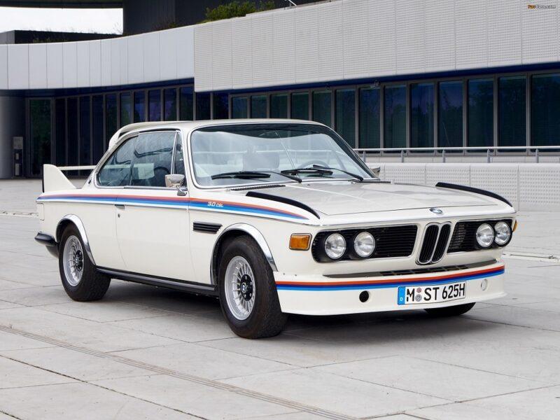 Гоночная версия BMW 3.0 CSL 1975 года