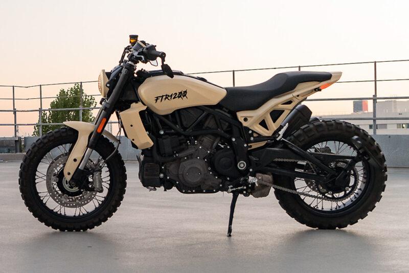 Indian FTR1200 от немецкой студии MOTOISM