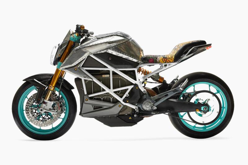 Кастом Zero Motorcycle SR / F от Тинкера Хэтфилда совместно с SEE SEE Motorcycles