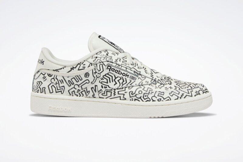 Коллекция кроссовок Keith Haring & Reebok